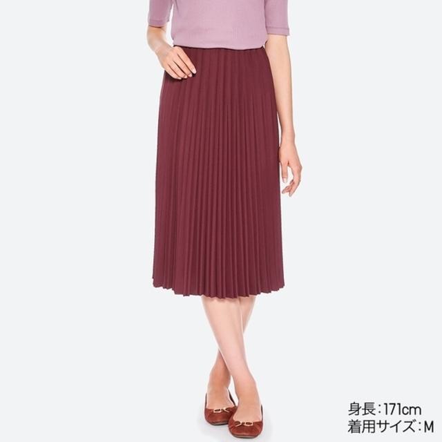 クレーププリーツスカート