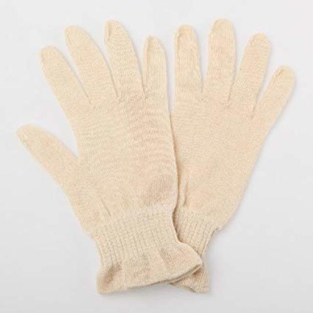 ヘンプ おやすみ手袋 Rサイズ