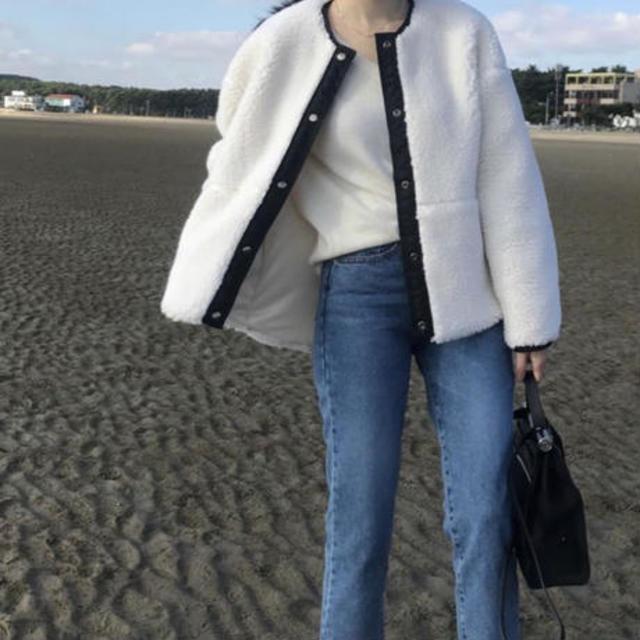 short ボアcoat