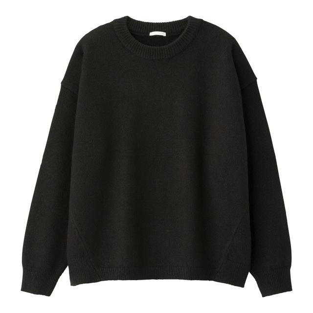 オーバーサイズクルーネックセーター