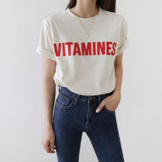 BIGロゴコットンTシャツ