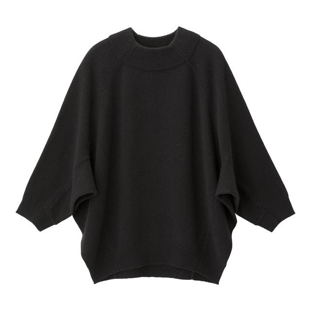 ウールブレンドドルマンスリーブセーター