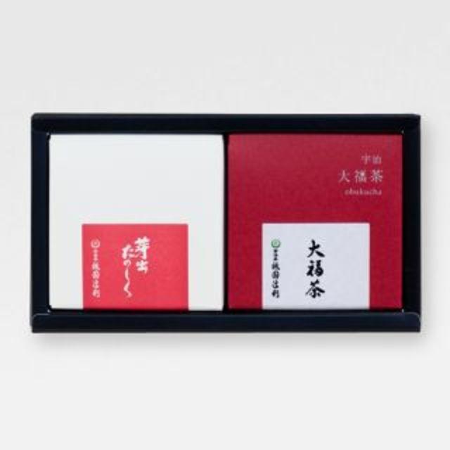 迎春セット 大福茶・芽出たのしくセット(絵馬・招福金付)