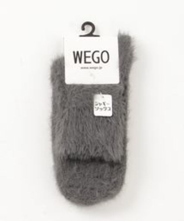 WEGO/シャギーソックス