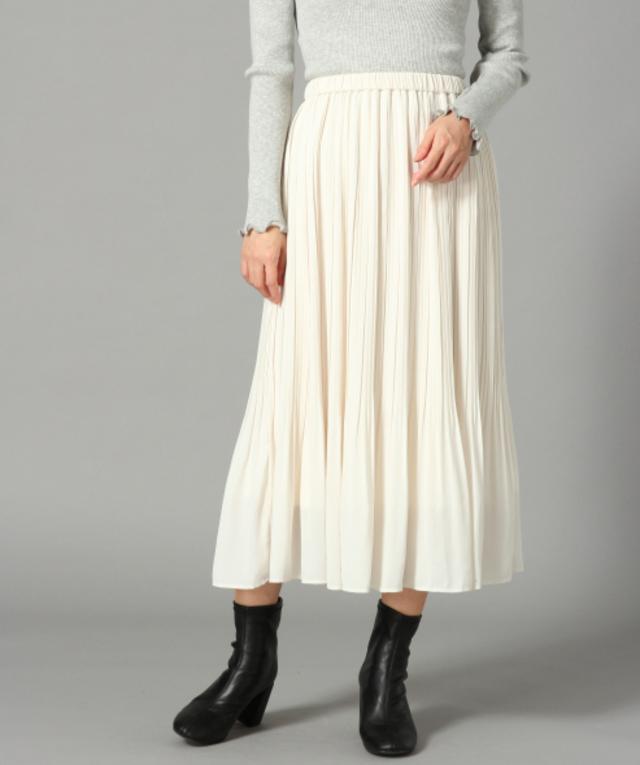 ケシプリーツスカート