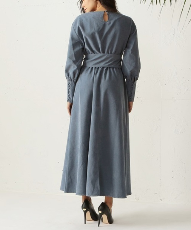 Melty volume sleeve maxiワンピース