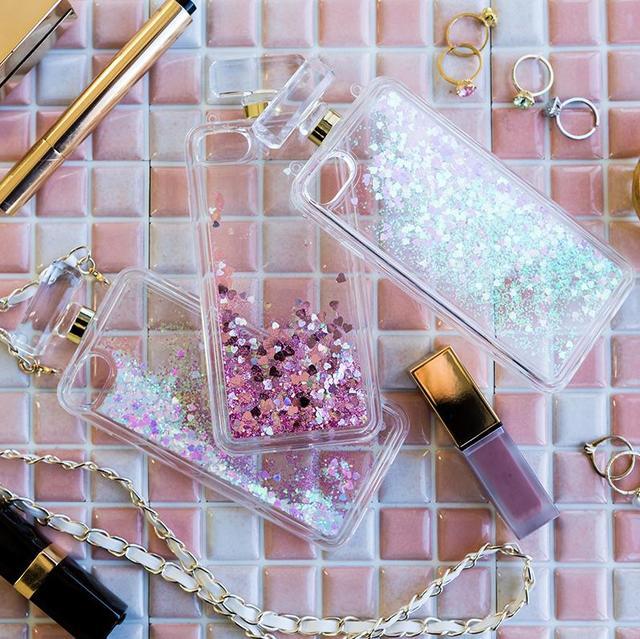 香水瓶型トキメキハートケース