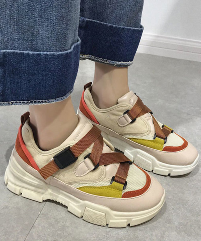 Belted Dad Sneaker