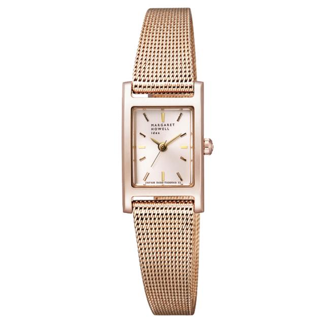 メッシュベルト腕時計