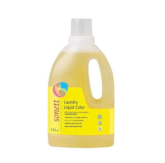 ナチュラルウォッシュリキッドカラー(色柄物用洗剤)1.5L