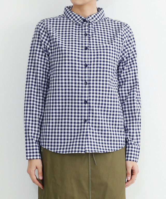 ギンガムチェックシャツ1528