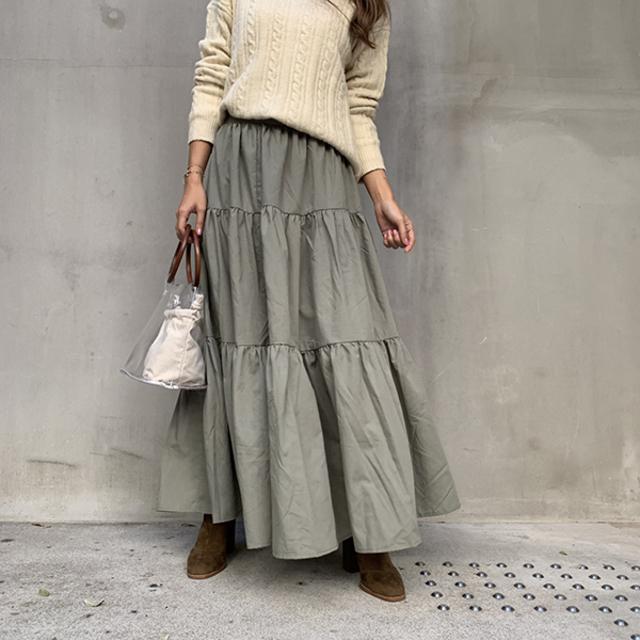 フレアモードスカート