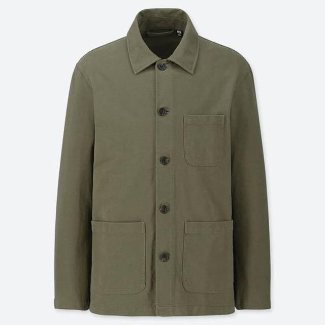 ウォッシュジャージーワークジャケット