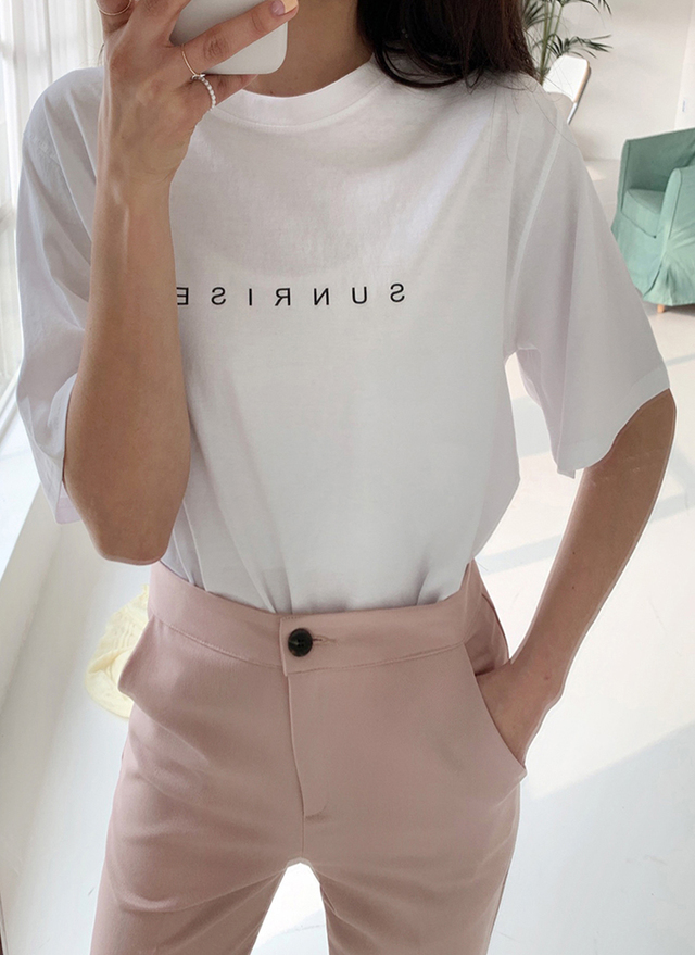 SUNRISE半袖Tシャツ・全2色・t52362