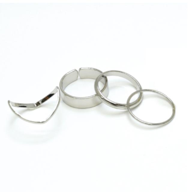 Favorite Ring!セットリング② ロジウムメッキ 10号,11号