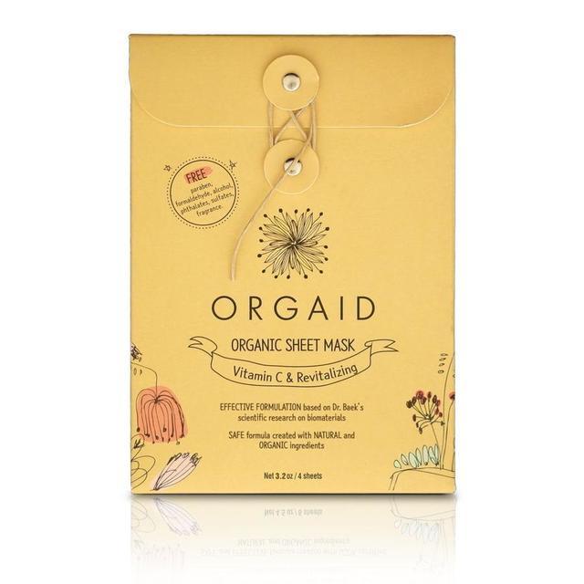 ORGAID|エッセンスクリアマスクBOX 24mL×4枚