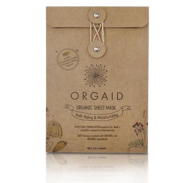 ORGAID|エッセンスモイストマスクBOX 24mL×4枚