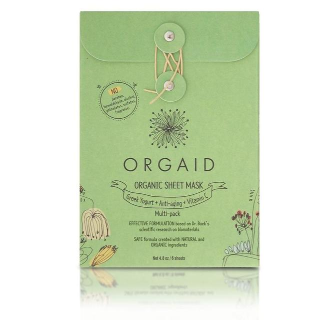 ORGAID|エッセンスマスク マルチパックBOX 24mL×6枚(3種×各2枚)