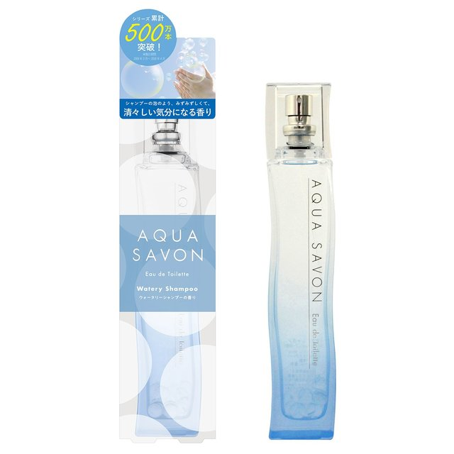 AQUA SAVON ウォータリーシャンプーの香り オードトワレ 80ml