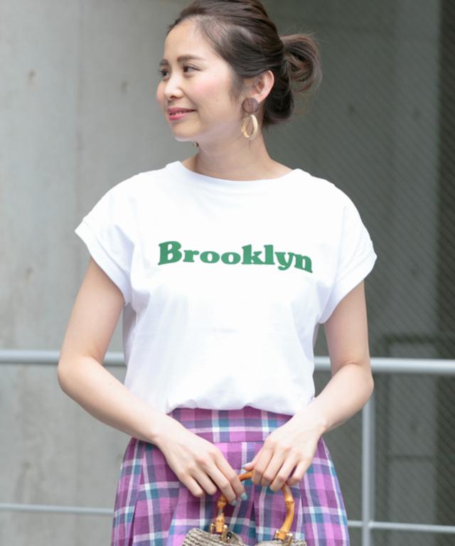 フレンチロゴプリントTシャツ