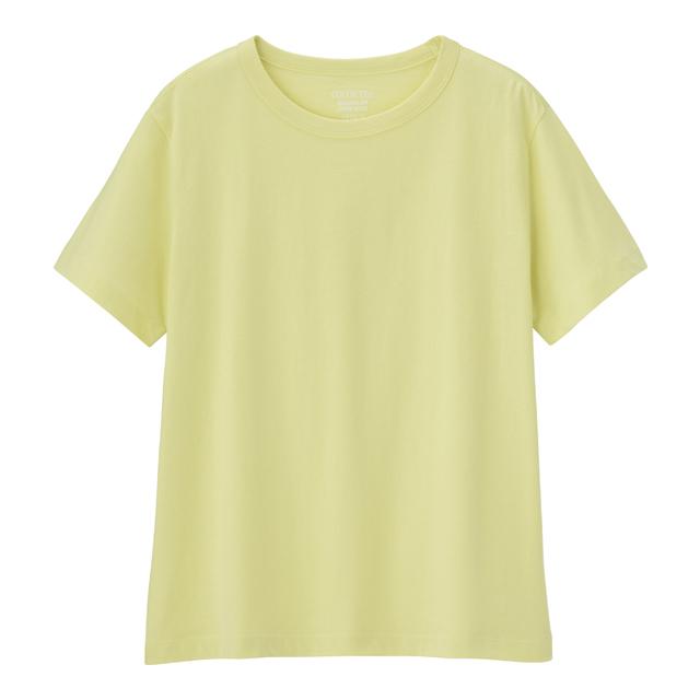 カラークルーネックT(半袖)