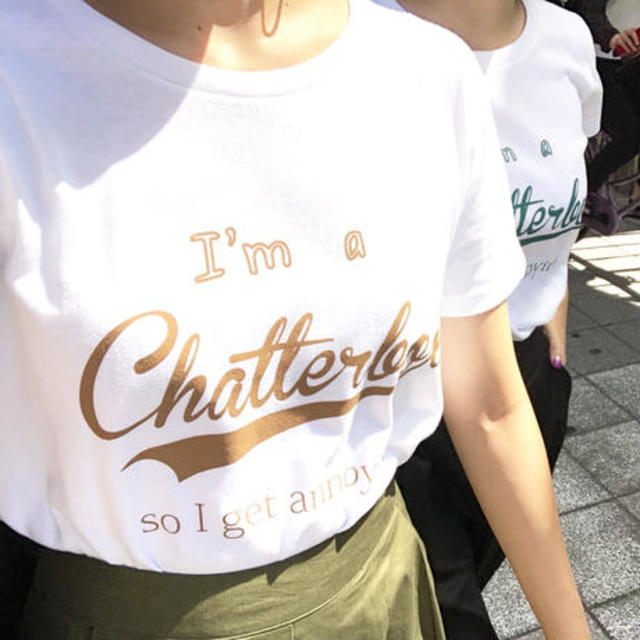 chatterboxTシャツ
