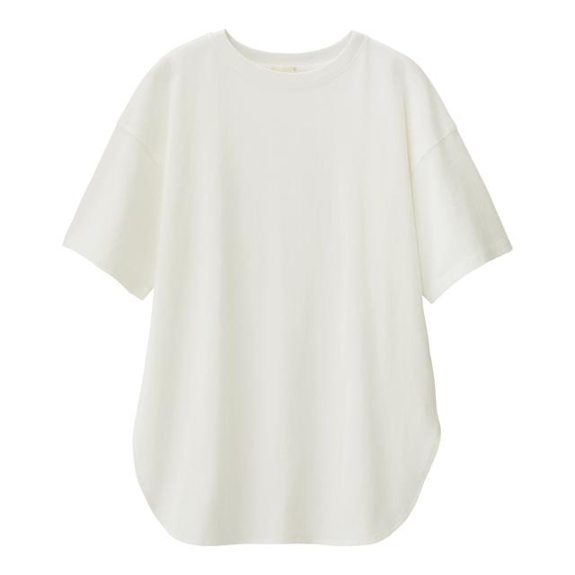 ヘビーウェイトオーバーサイズT(5分袖)