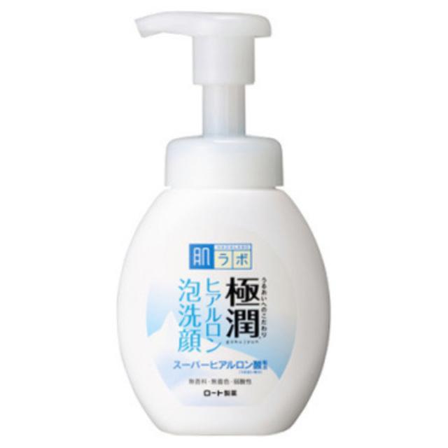 肌ラボ 極潤 ふんわりヒアルロン泡洗顔