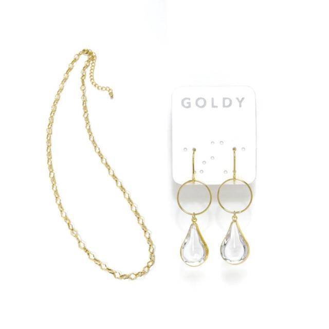 GOLDY | ピアス ・ネックレスセット
