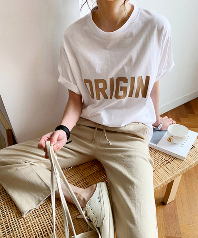NANING9 ORIGIN半袖Tシャツ