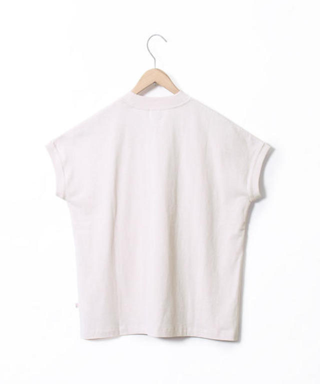 USAコットンハイネックTシャツ
