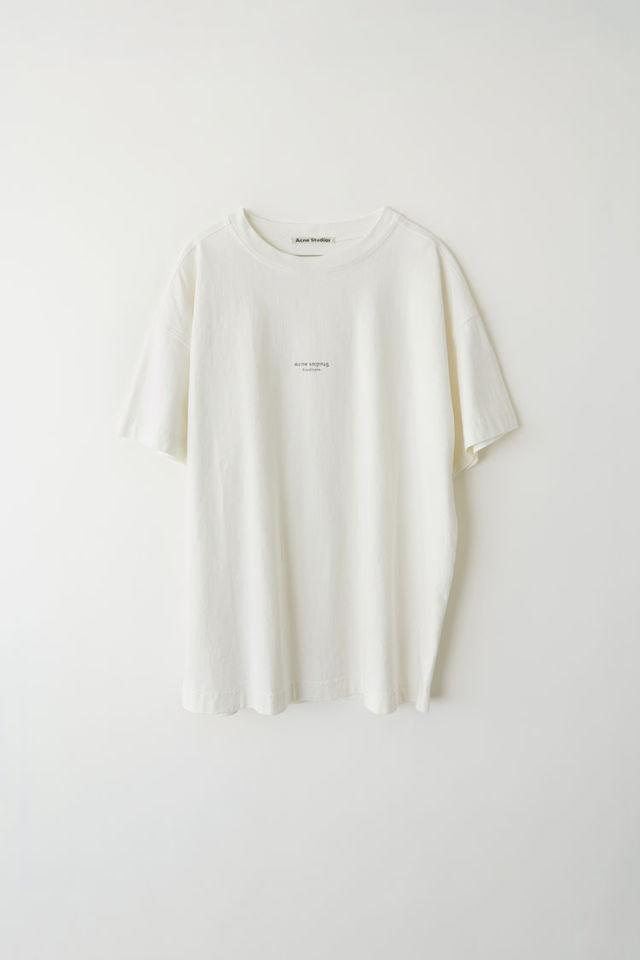 ロゴTシャツ オプティックホワイト