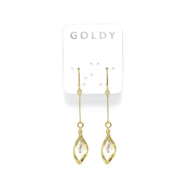 GOLDY | ピアス クリア