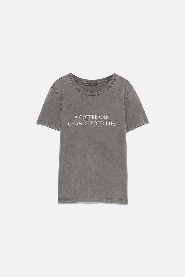 ウォッシュ加工風Tシャツ