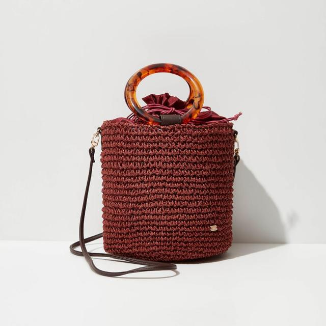 人気インスタグラマー愛用♡KIKO サークルハンドルペーパーバッグ 全2色 H19W18D16cm