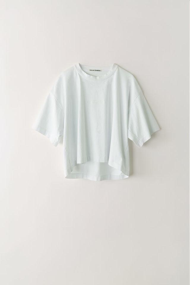トーナルカラーロゴTシャツ オプティックホワイト