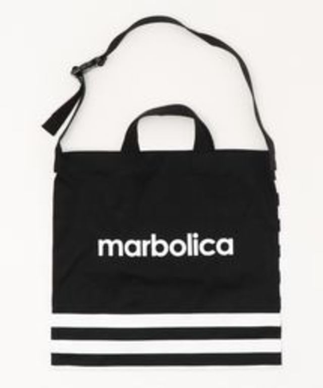 【marbolica】ボーダートートバッグ