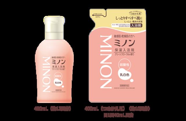 ミノン薬用保湿入浴剤 480mL [医薬部外品]