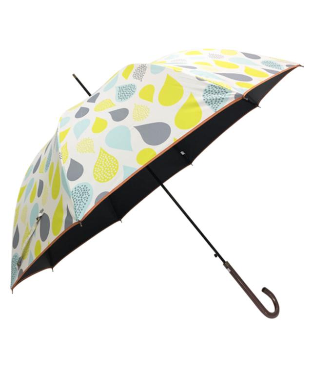 晴雨兼用ジャンプ傘 ドロップ柄