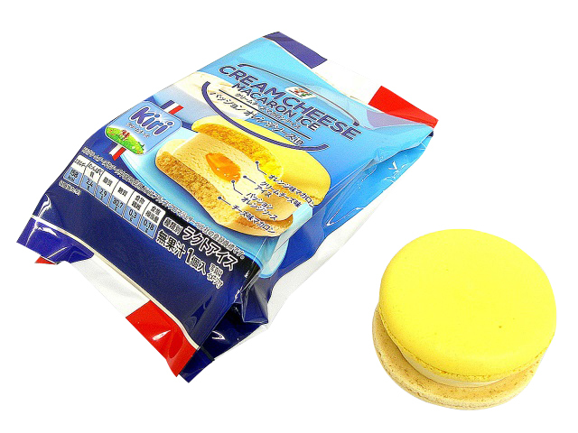 クリームチーズ マカロンアイス