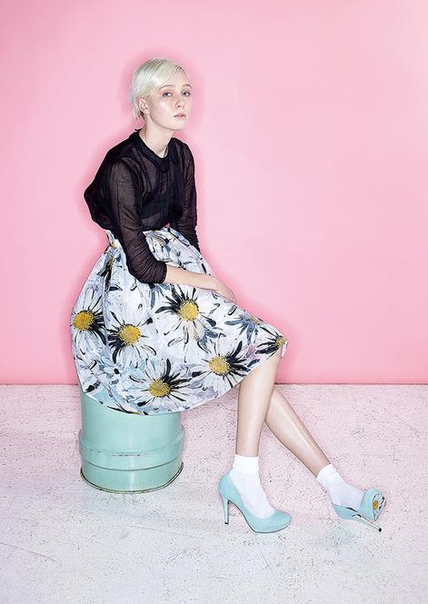 中でもこのマーガレットモチーフのスカートはなんとパンプスともおそろいになっている商品!♡このパンプスと合わせてこっそりコーディネートしたいですね!