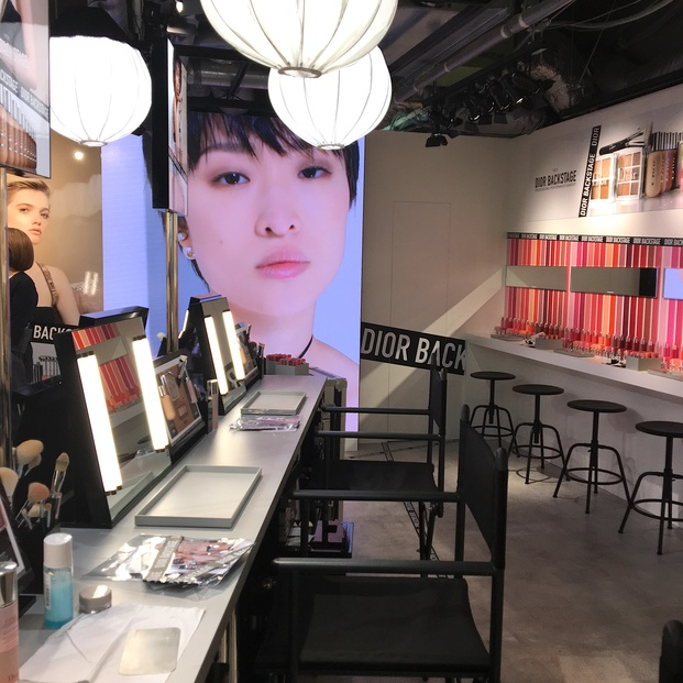 Diorのメイクレッスンが無料♡『ディオールバックステージ』へ